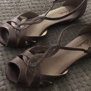 Clarks Shoes - Clarks Leather Sandals